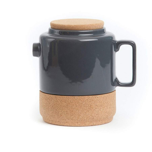 Alma Gemea - Tea Pot - Soul Mate Collection Colour: Dark Grey