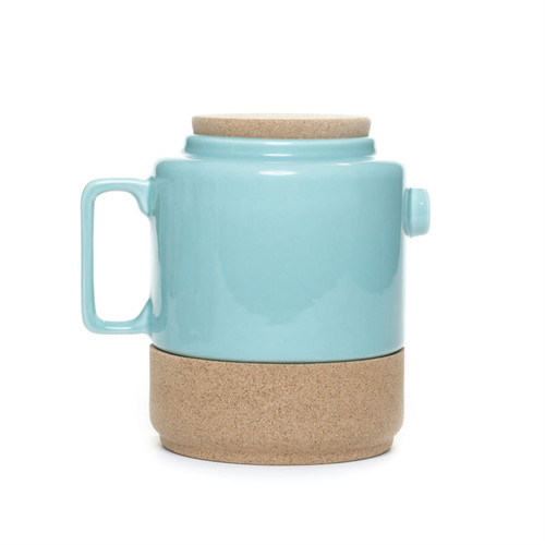 Alma Gemea - Sateen, Portuguese Tea Pot - Soul Mate Collection Colour: Blue