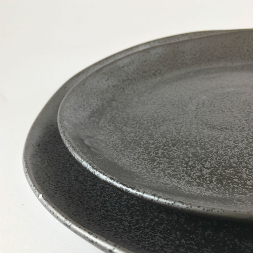 Robert Gordon - Dinner Plate 28cms (Black), Side Plate 21 cms (Black) Dinner Set Shown