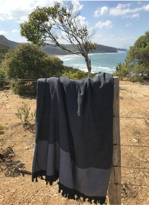 King Size Luna Throw Cotton - Cotton 240cm x 200cm