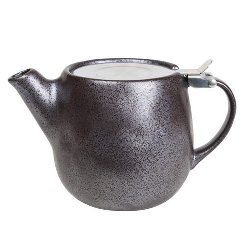 Robert Gordon Earth Teapot in Black - Earth Collection Café Style, Restaurant Grade