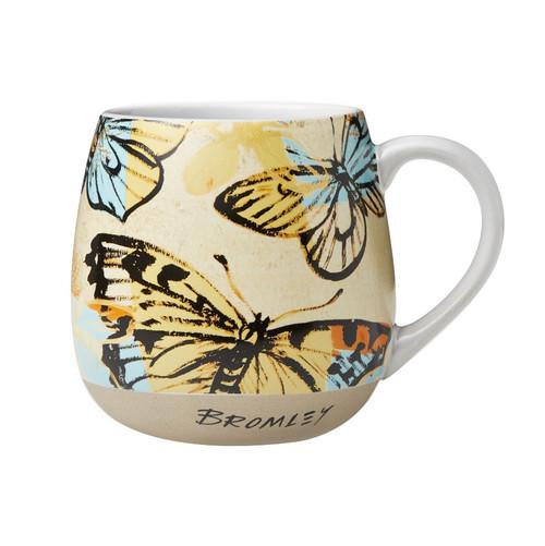 Robert Gordon X Bromley - Hug Me Mug - Butterflies