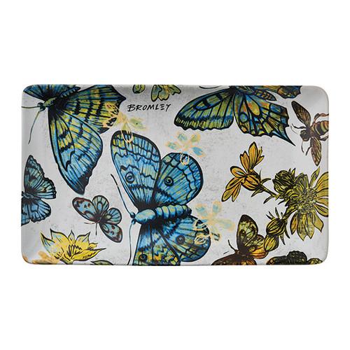 Robert Gordon X Bromley & Co Collection - Rectangle Platter Butterflies