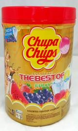 Chupa Chups Lollipop Tub 1.2kg/Appr. 100pcs