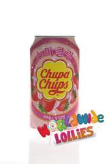 Strawberry Chupa Chup Soft Drink 345ml