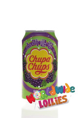 Grape Chupa Chup Soft Drink 345ml