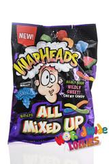 Warheads All Mixed Up Peg Bag 142g