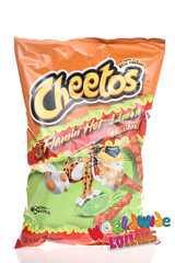 Flamin Hot Limon Crunchy Cheetos 240g