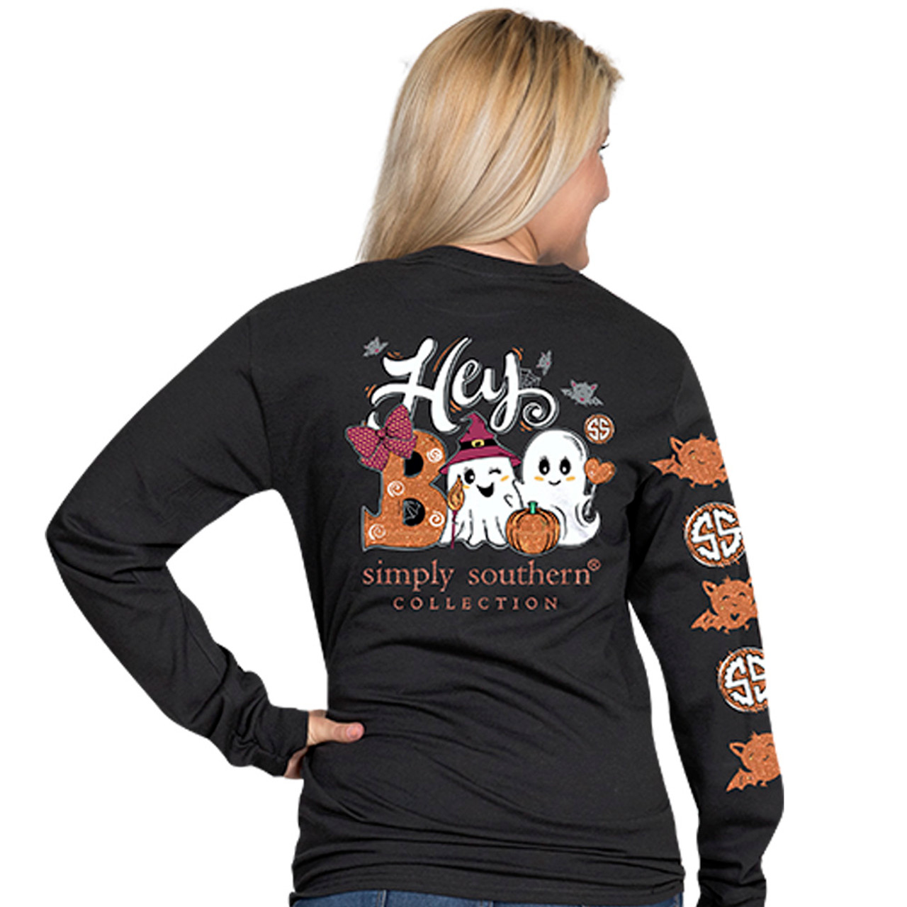 7113edc2 SIMPLY SOUTHERN SIMPLY BLESSED LONG SLEEVE LS-BLESSED-PEARL