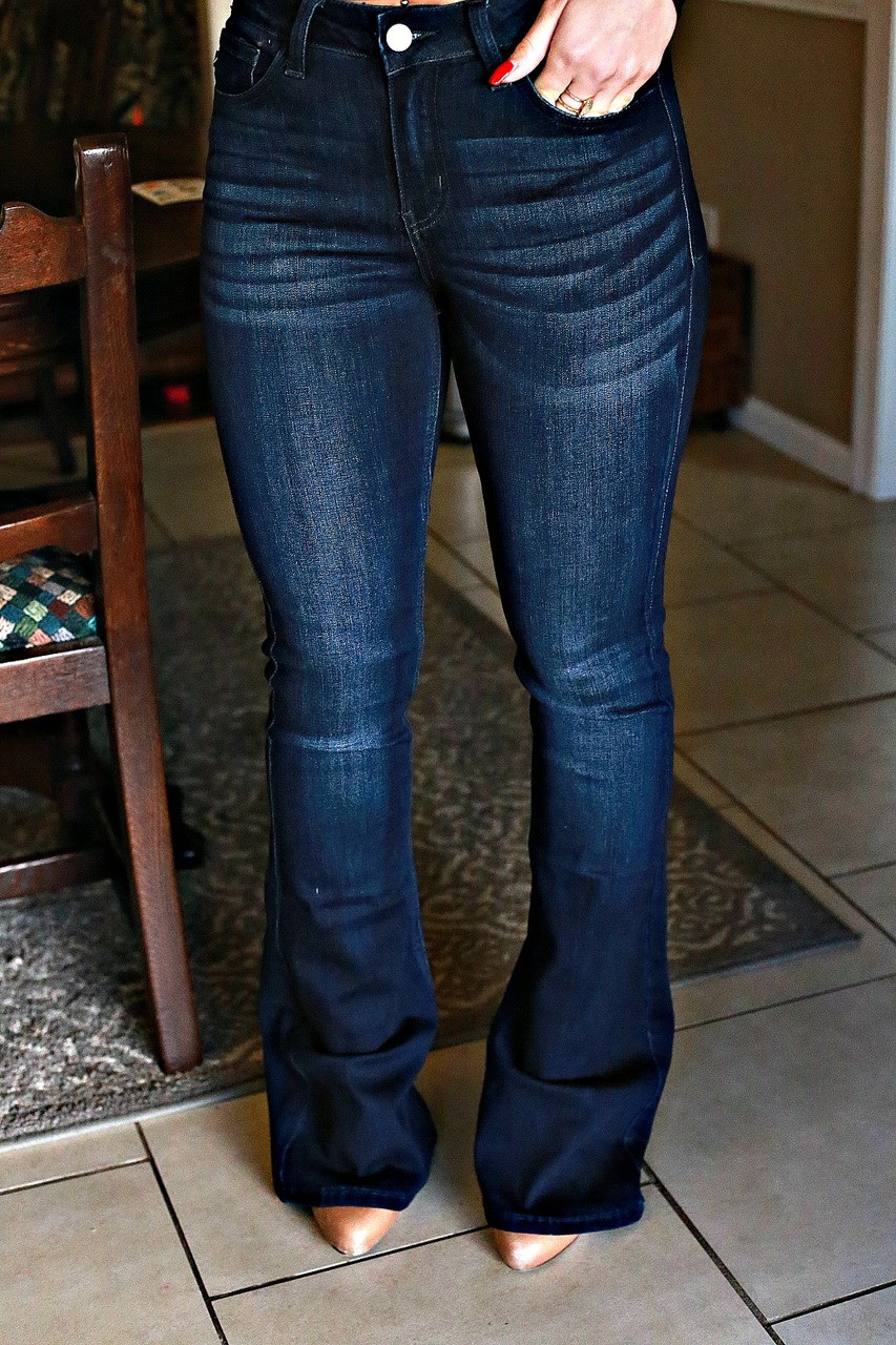 c33b7a795cd Sammi Flare Jeans  Dark Wash - Off the Racks Boutique