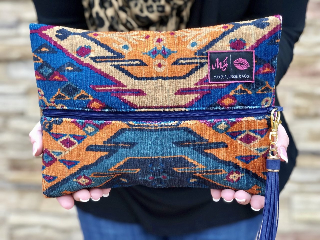 b64d51024dff Moroccan Makeup Junkie Bag Free shipping