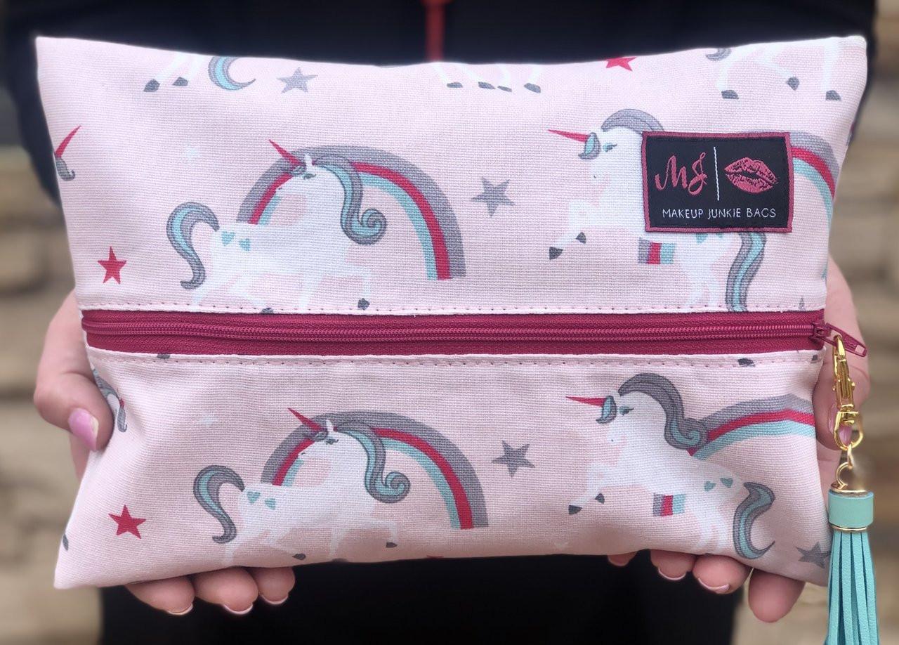 8dfb0e2d81f7 Unicorn Makeup Junkie Bag Free shipping