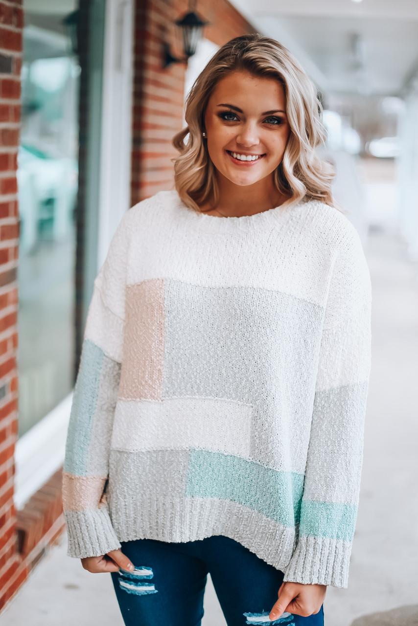 Amanda Sweater: Multi