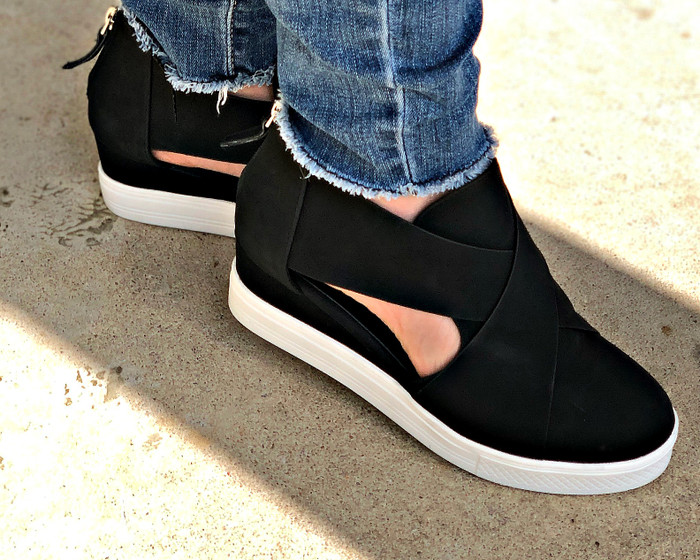 cocci melody sneaker wedge | off the