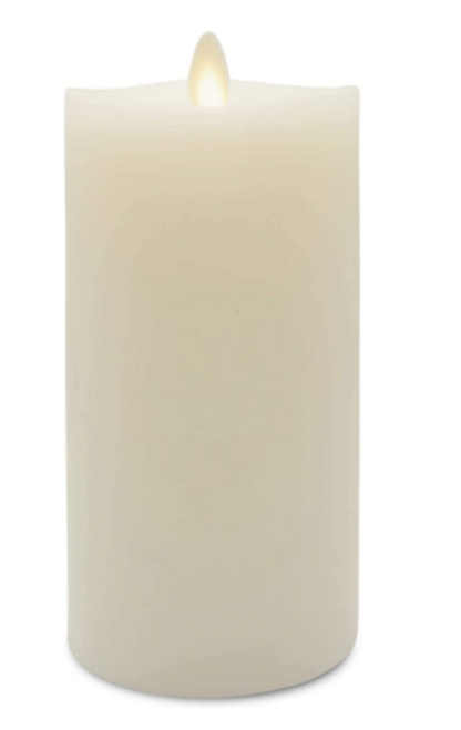 "Matchless Candle Co. Moving Flame 3"" X 6.5"" Pillar Candle"