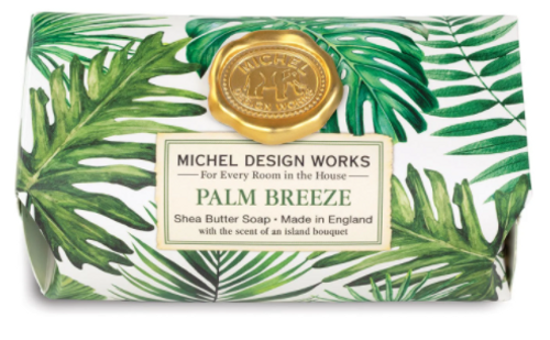 Michel Design Works - Palm Breeze Large Bath Soap Bar