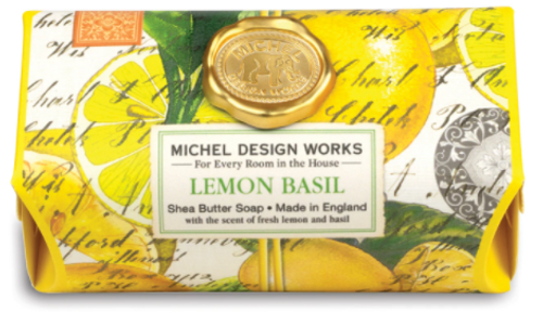 Michel Design Works - Lemon Basil Large Bath Soap Bar