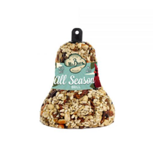 All Season Fruit & Nut Bell Bird Feeder