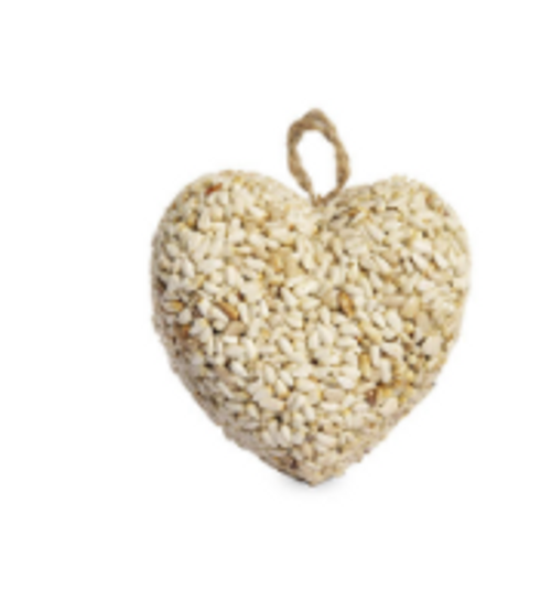 Love Hearts Bird Feeder