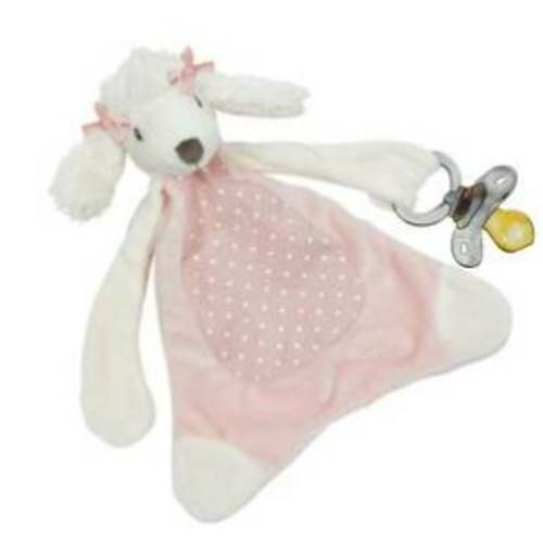 Misty the Poodle Pacifier Blankie