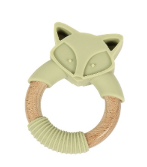 Bamboo & Silicone Teether