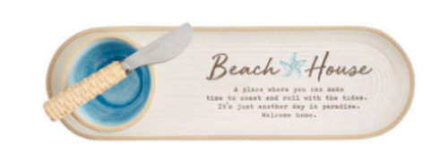 Beach House Tray and Dip Set