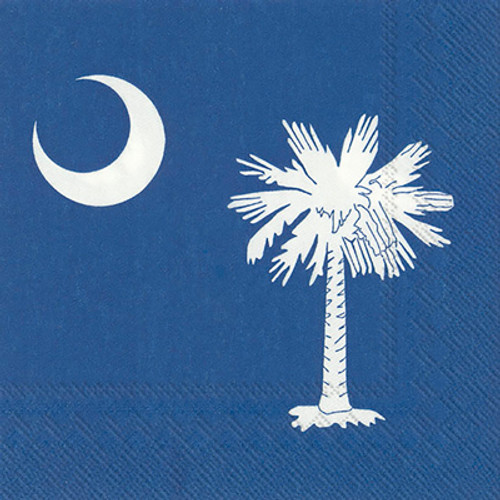 South Carolina Flag Cocktail Napkins