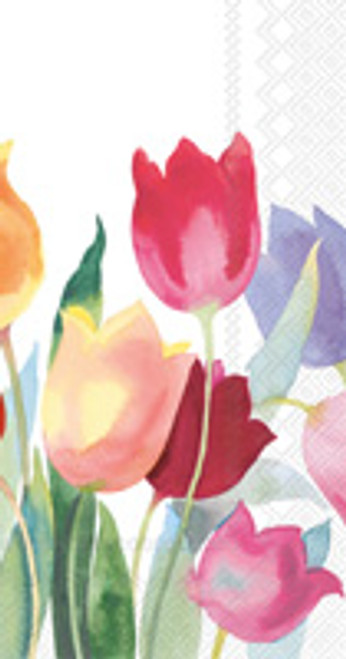 Powerful Tulips Guest Towel