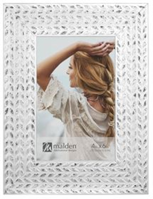 White Wheat 4x6 Picture Frame
