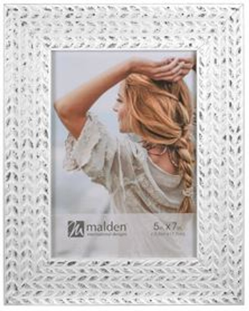 White Wheat 5x7 Picture Frame
