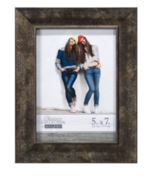 Bronze Texture 5x7 Picture Frame
