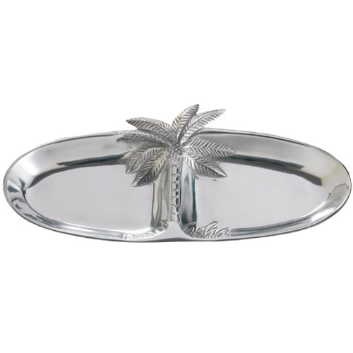Two Section Tray Palm Tree