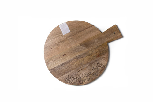 Happy Everything Mini Wood Serving Board