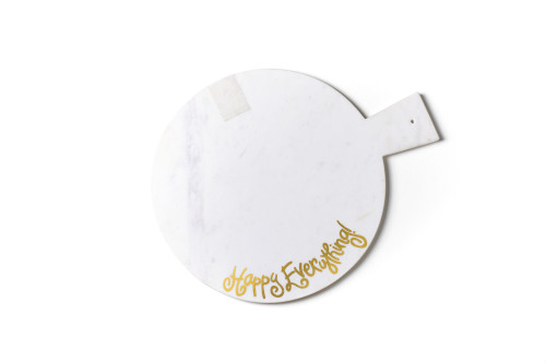 Happy Everything Marble Serving Board MINI
