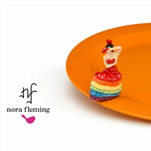 Fiesta Platter with Dancing Lady Mini
