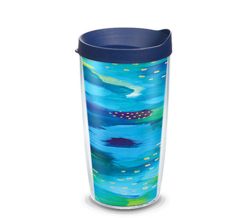 Etta Vee Sea of Blue TERVIS tumbler