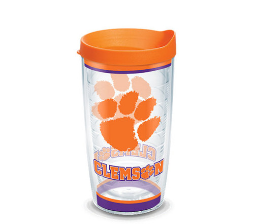 Clemson Tigers Tradition 16 oz TERVIS tumbler