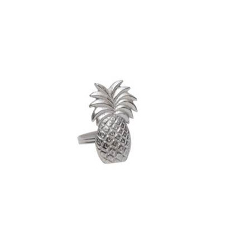 "2"" Pineapple Napkin Ring"