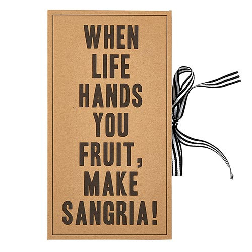 Cardboard Book Set - Sangria