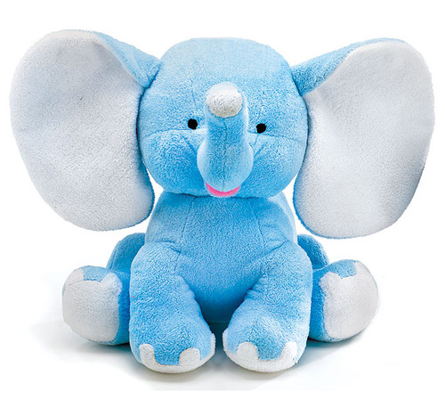"Plush 13"" Blue Buddy Elephant"