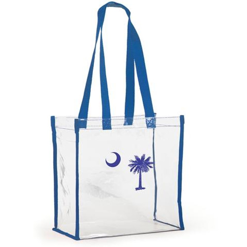 Stadium Tote- Palmetto Moon