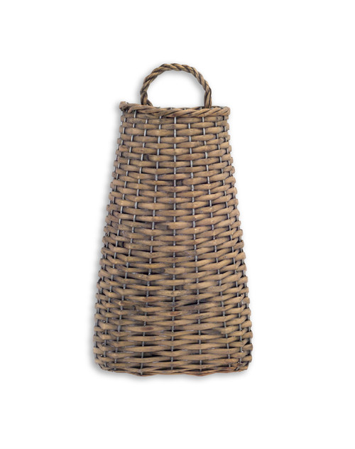 Wall Basket 14'' Willow - BR