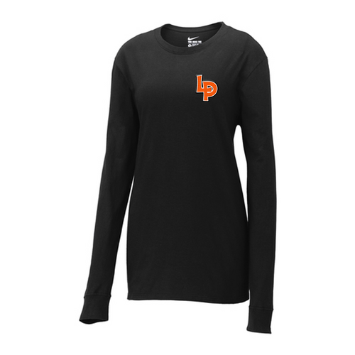 LP Ladies Long Sleeve Nike T Mock