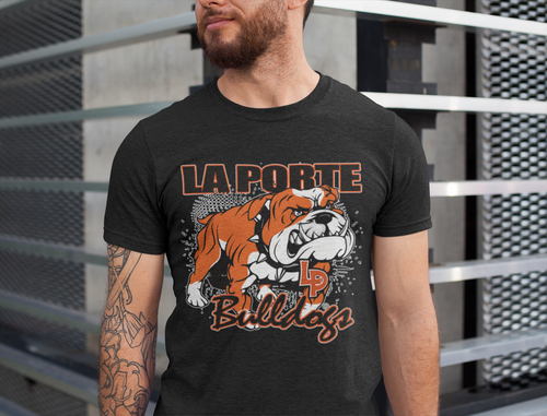 LP Bulldog Mascot