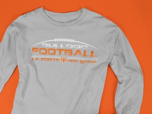 Football Fan Long Sleeve Tee
