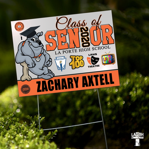 Senior Yard Sign (Custom)