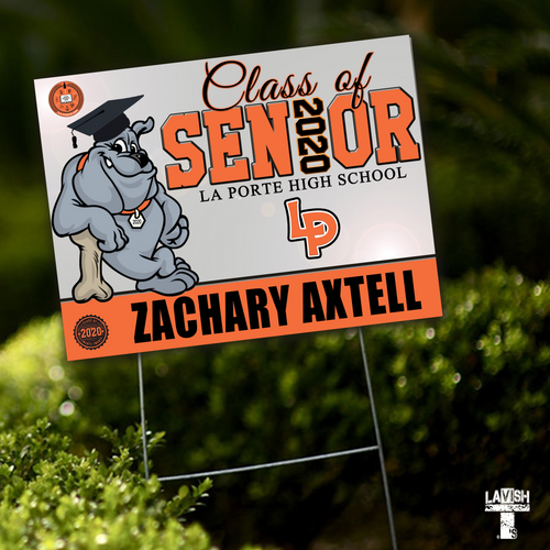 Senior Yard Sign (Basic)