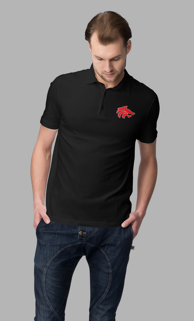LMX Dri-Fit polo Printed logo
