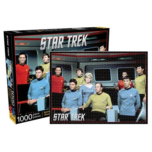 Star Trek Cast 1,000-Piece Puzzle