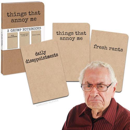 Grump Notebooks Set of 3